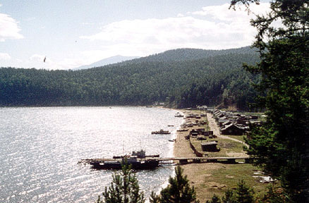 Korbulik village at East Baikal