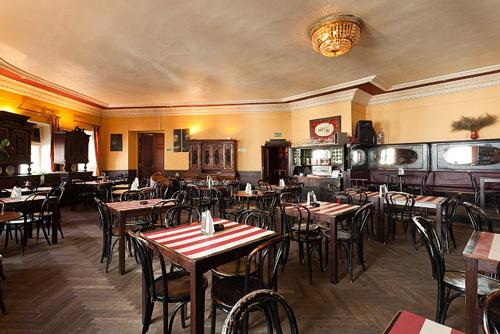 Mayak Restaurant Moscow