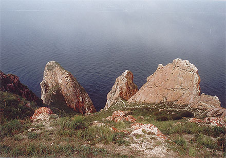 Three brothers rock, photo by WayToRussia.Net