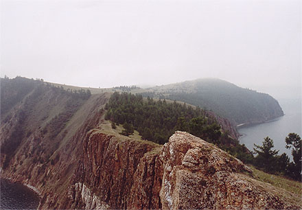 Khoboy Cape Baikal lake, photo by WayToRussia.Net