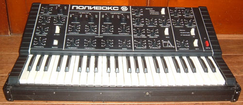 Polyvoks synthesizer from Russia with raw love