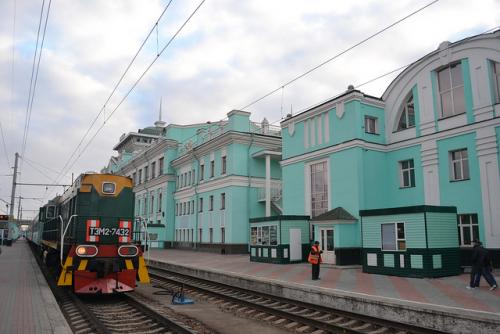 Train Station in Irkutsk