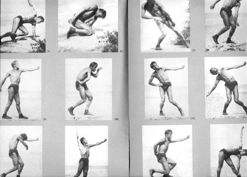 Meyerhold's biomechanics movements and postures