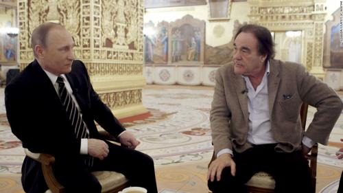 Screenshot from Oliver Stone's Putin's Interviews, by Showtime