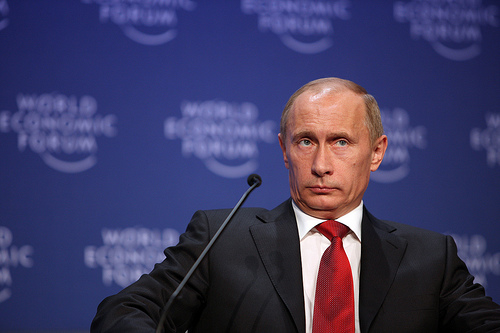 Putin at World Economic Forum / Photo by WorldEconomicForum@FlickR