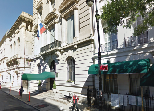 Russian consulate in New York, USA