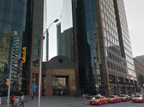 Russian consulate in Toronto, Canada - photo by Google Maps