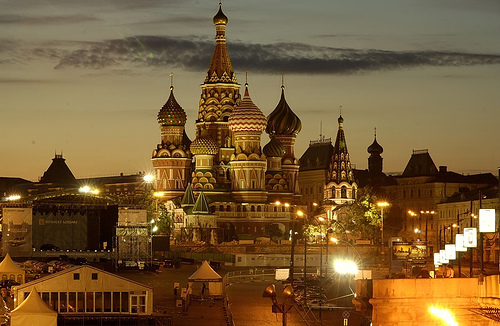 St Basils cathedral in Moscow - Photo by Jerrold@FlickR