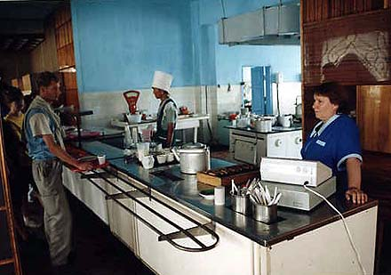A cantine at Arshan, photo by WayToRussia.Net