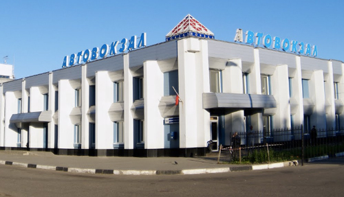 Bus Station in Yaroslavl
