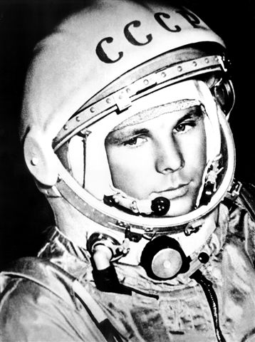 Yury Gagarin – Photo by Russian Institute of Radionavigation and Time