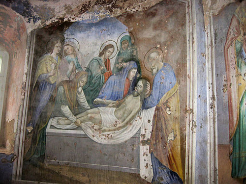 Fresco in Kideksha Church - photo by By Ded egor via Wikimedia Commons