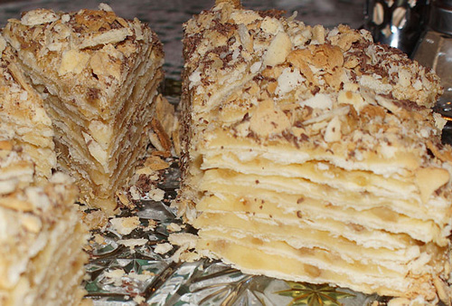 Russian food recipes desserts way to russia guide napoleon cake forumfinder Images