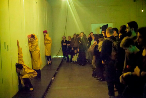 Performance at Plaforma Project on Vinzavod in Moscow - photo from facebook.com/platform.project