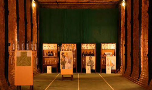 Shooting Club Labyrinth in Moscow