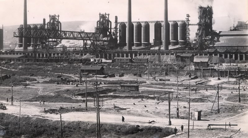 Kuznetsk metallurgical factory - Soviet Union (1937) photo by _devol_ / http://s165.photobucket.com/user/devol_photo/media/1937.jpg.html