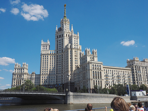 One of the seven sisters - Stalin's Skyscrapers