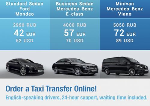 Airport Transfers in Moscow and St. Petersburg