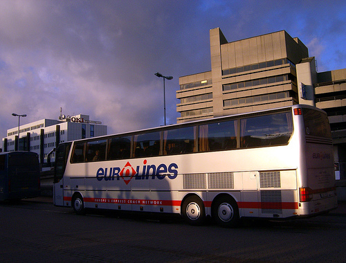 Eurolines bus / photo by at_peter_mayr@FlickR