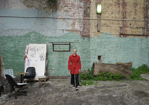 Russian fashion designer Gosha Rubchinsky's lookbook