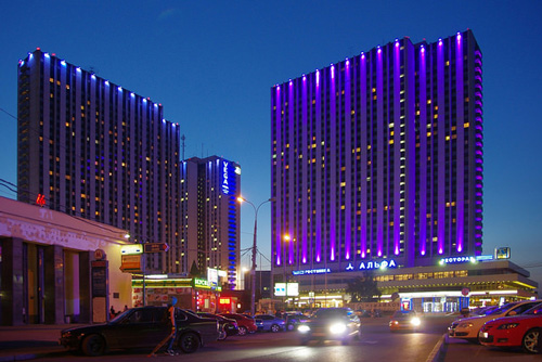Hotel Izmailovo Moscow - photo by Artem Svetlov @flickr