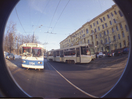 Moscow trolleybuses - photo by Trolleway@FlickR