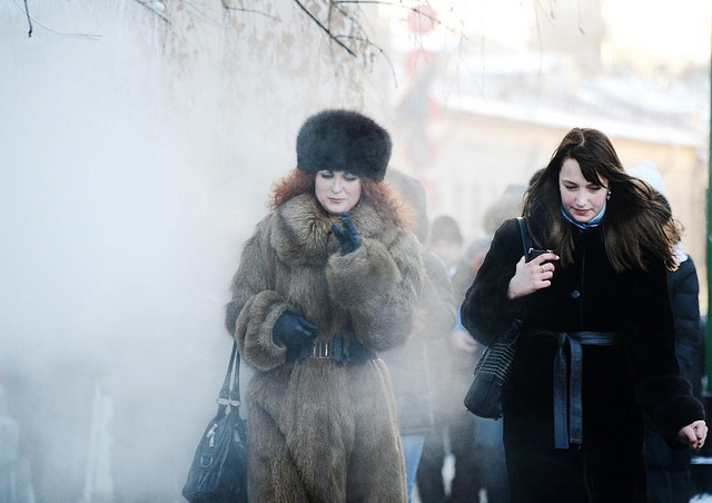 Russian women in cold weather - photo by DiariocriticodeVenezuela@FlickR