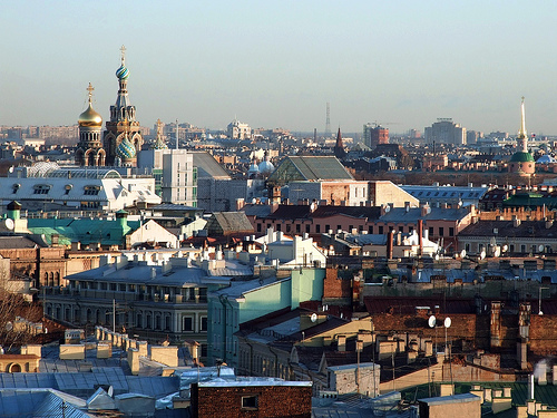 St. Petersburg View by Andywon@FlickR