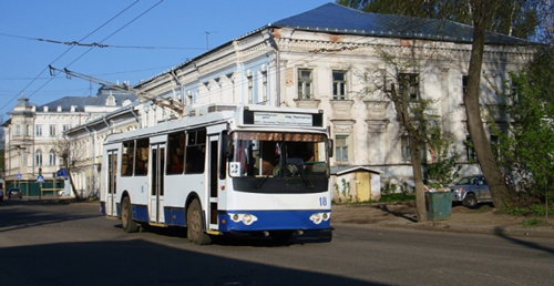 Trolley bus, Kostroma