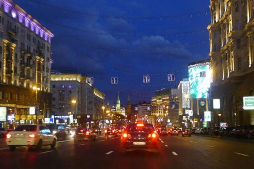 Tverskaya street in Moscow - photo by Erik Feng @FlickR