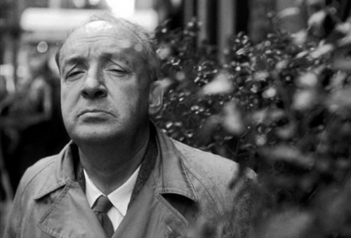 Vladimir Nabokov in New York in 1963 - photo by William Claxton