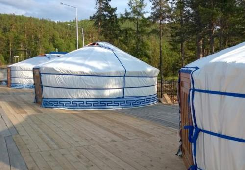 Yurt Camping Alan Goa at Baikal Lake