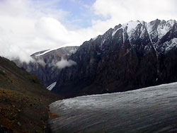 Aktru glacier, Altay mountains